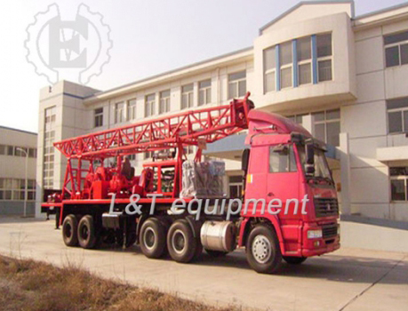 Trailer Water Well Drilling Rig
