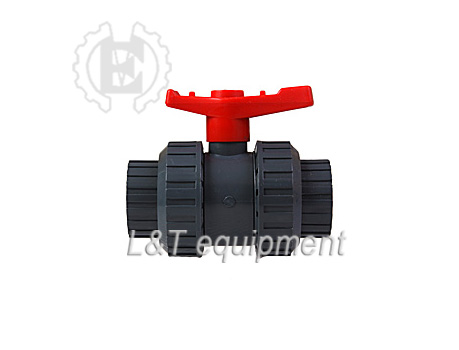 Solvent Weld Double Union Ball Valve