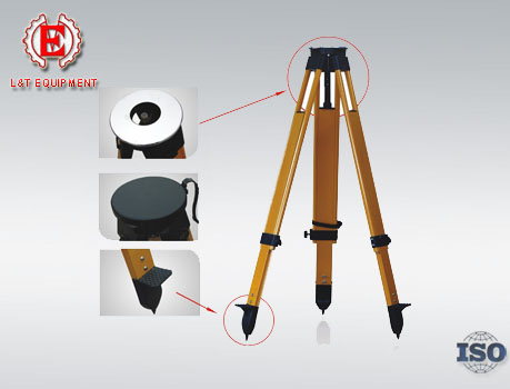 S20 Series Fiberglass Tripod for Total Station