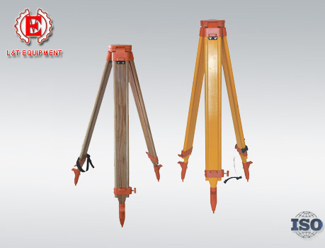S19-2 Series Wooden Level Tripod