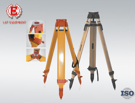 S19-1 Series Wooden Total Station Tripod